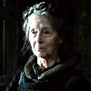 An old woman from Game of Thrones